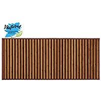 Alfombra DE Bambú para Pasillo O Salón. Tonos Naturales, 75 x 175 cm
