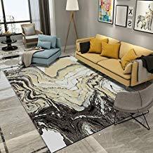 Amplia alfombra para la sala