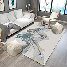 Elegante alfombra salon