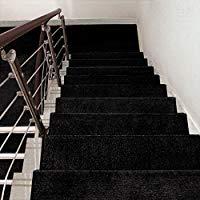 Alfombra Antideslizante Para Escalera. Alfombra Extra Espesa Para Hogares De Madera Sólida. Tamaño : 65 x 24 cm