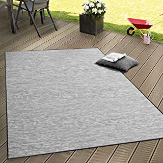 Alfombra interio exterior color gris