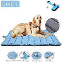 gris Dise/ño alfombra de manta de mascota Perro Impermeable Port/átil de viaje plegable al aire libre manta esterilla para dormir en 2/colores