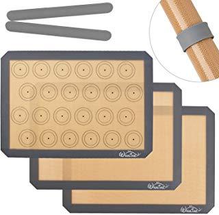Alfombrilla silicona para hornear antiadherente