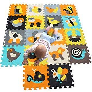 Tapete puzzle para niños