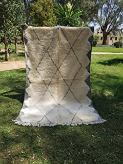 alfombra bereber mostaza
